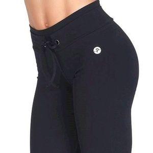 Protokolo Activewear Black Pant Size S/M NWT NEW